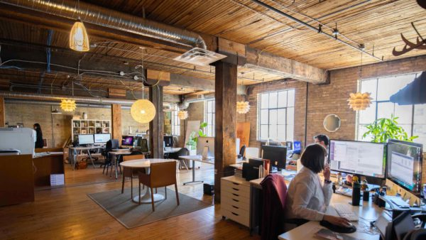 relish open office space