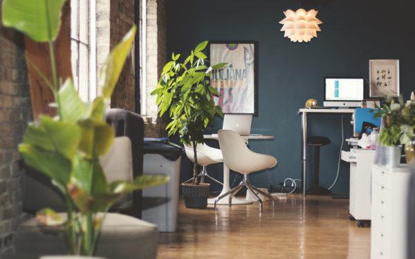 Studio sitting area / workspace