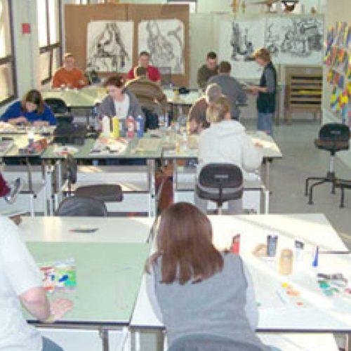 individuals at workshop