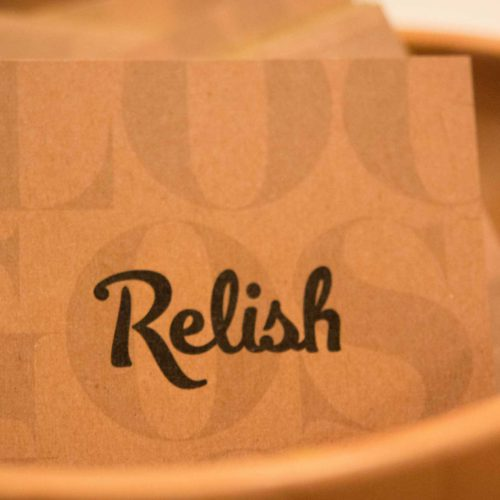 relish brand booklet cover