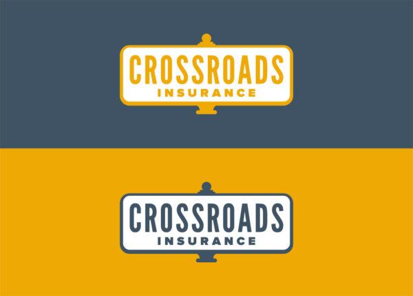 Crossroads Insurance - logos colour options