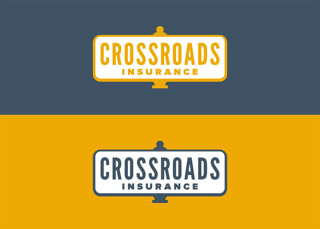 Crossroads Insurance - logos colour options