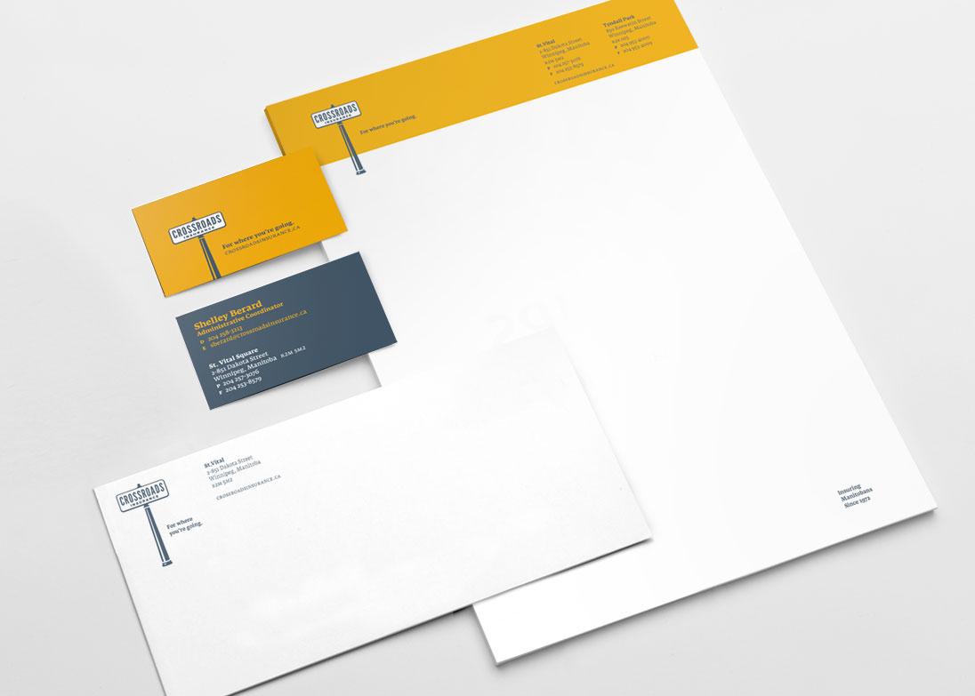 Crossroads Insurance letterhead