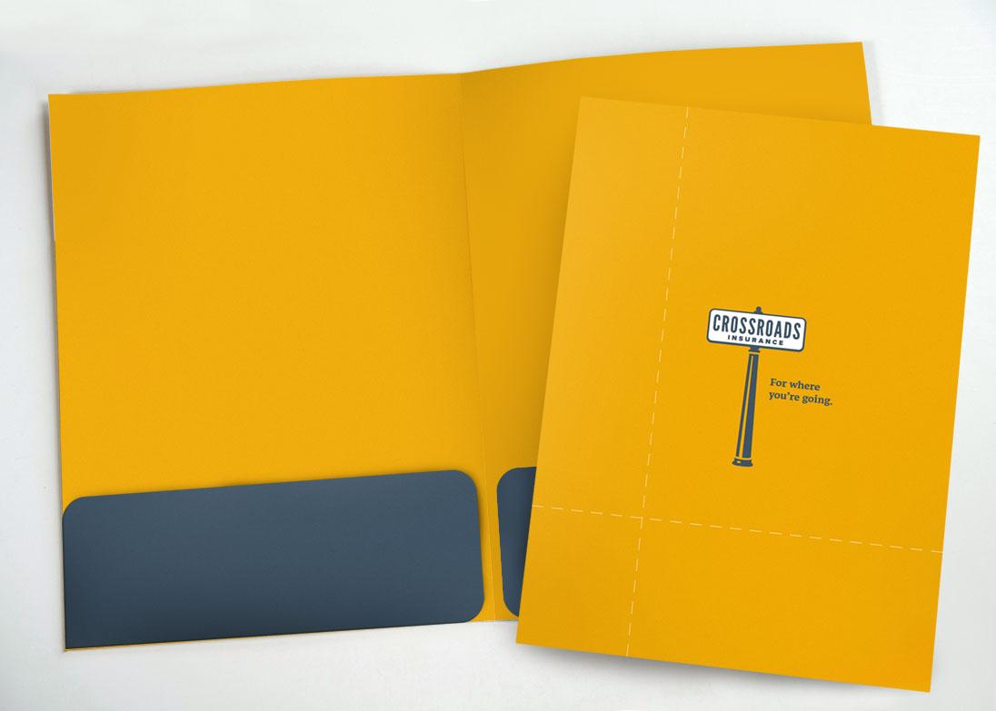 Crossroads Insurance folders