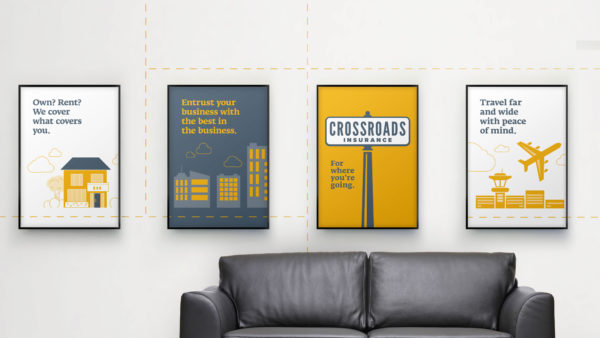 Crossroads Insurance - signage