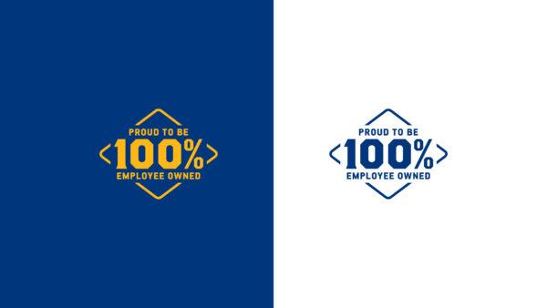 Friesens Corporation logo - colour treatments