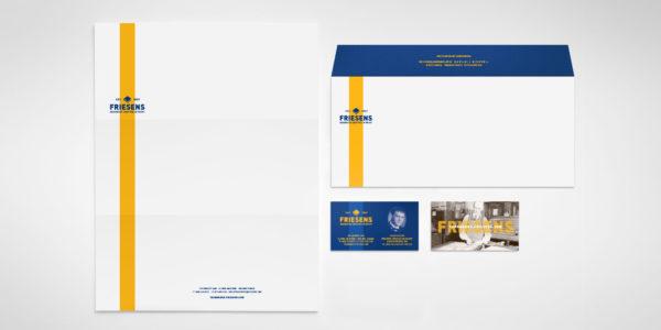 Friesens Corporation letterheard