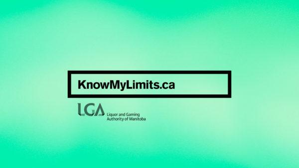 LGA know my limits campaign - website logo