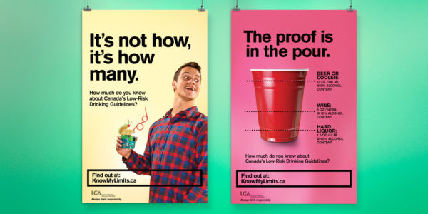 LGA know my limits campaign posters