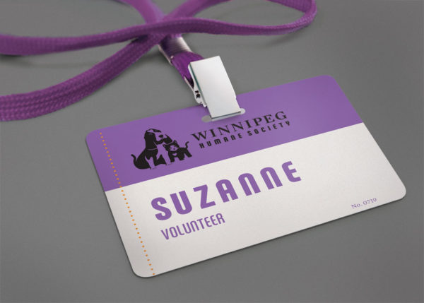 Winnipeg Humane Society - nametag