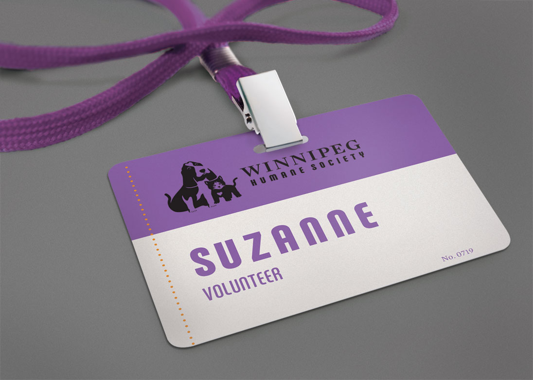 Winnipeg Humane Society - nametag