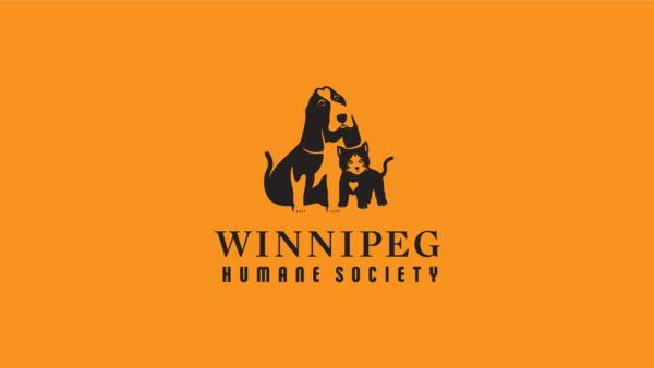 Winnipeg Humane Society - logo orange / black