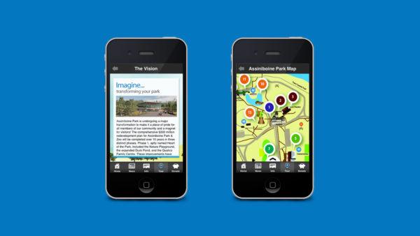 Assiniboine Park App Feature 2