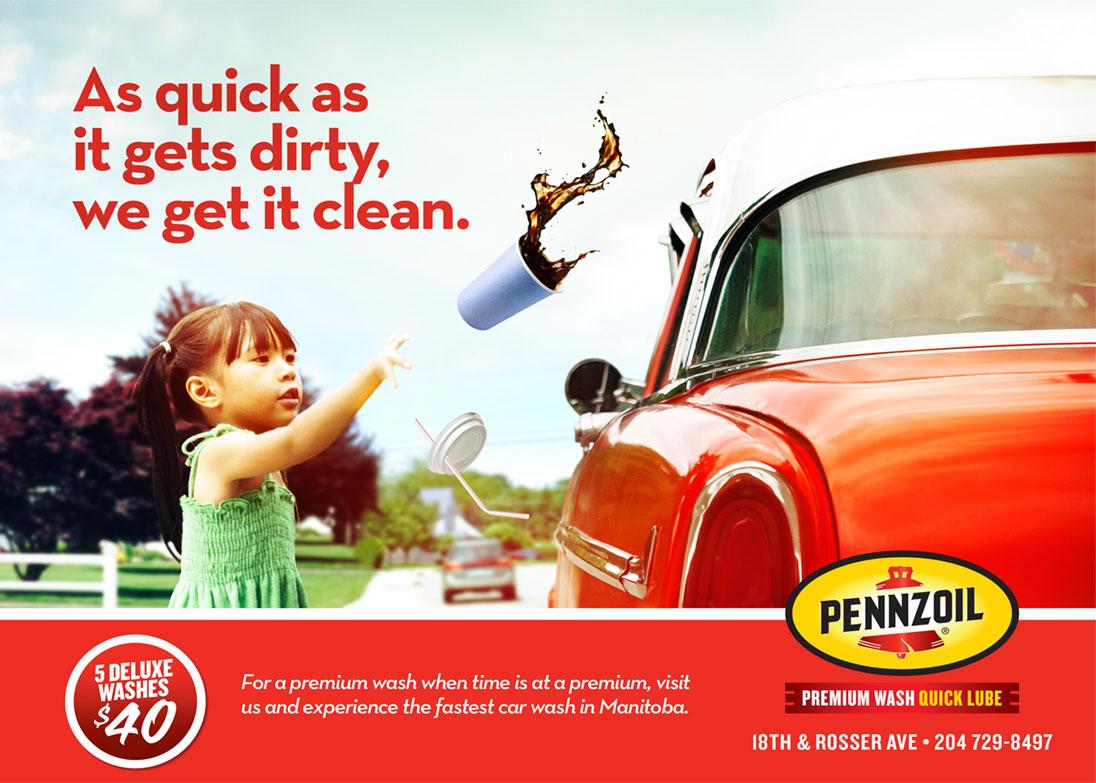 Pennzoil Premium Wash Amp Quick Lube Brand Relish